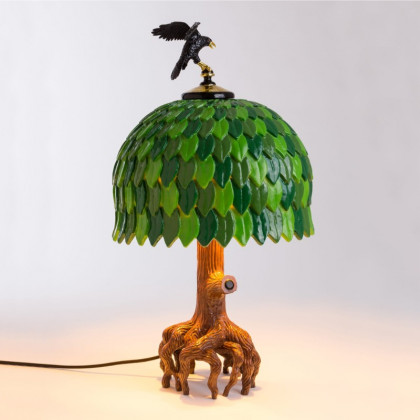 Seletti Tiffany Tree Table Lamp