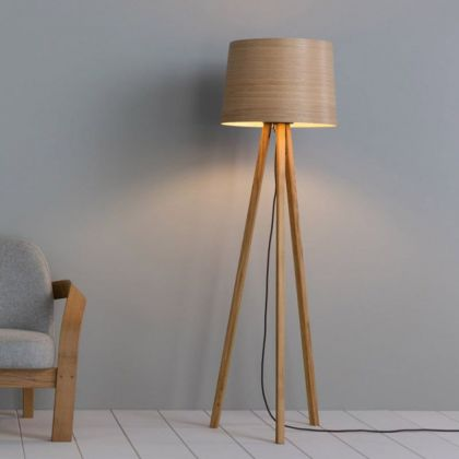 Tom Raffield Helix floor light