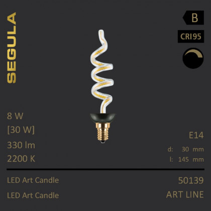 Segula Art Line LED Art Candle