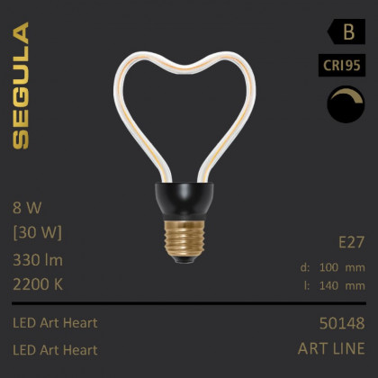 Segula Art Line LED Art Heart