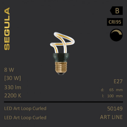 Segula Art Line LED Art Loop Curled