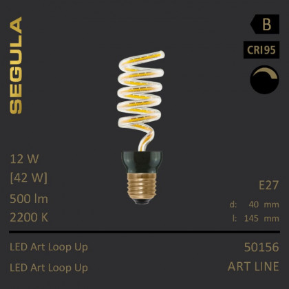 Segula Art Line LED Art Loop Up