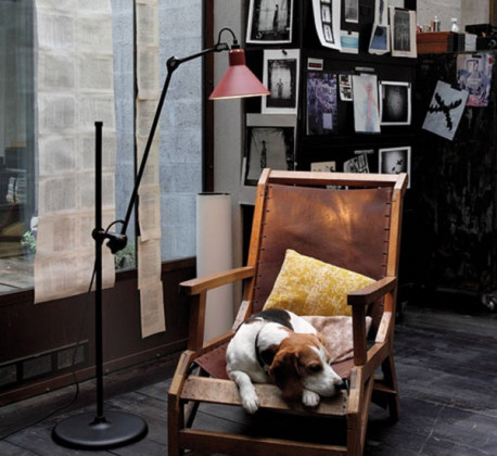 DCW Editions Gras n°215 floor lamp