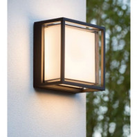 Outdoor square wall lamp LED