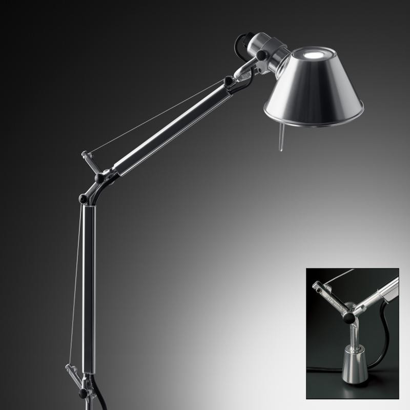 Buy Artemide Tolomeo Fixed Desk Support Online Lamptwist