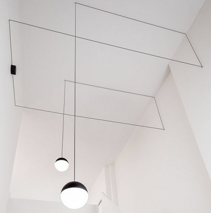 Flos String Light Sphere Head