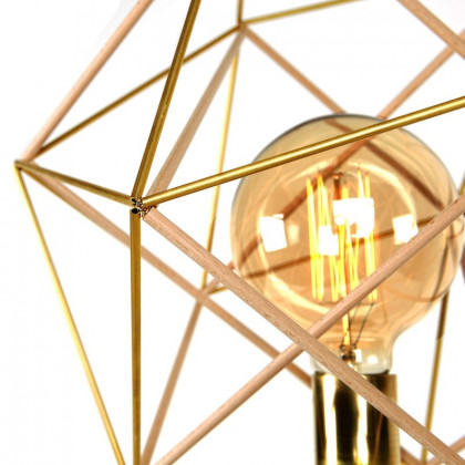 Gobo Lights Icosahedron Table lamp