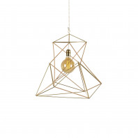 Gobo Lights Twisted Icosahedron