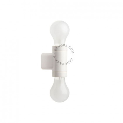 "Pure Porcelain Lamp ""ribbon"" Socket"