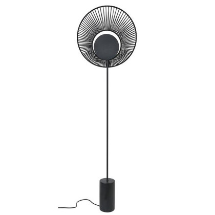 Forestier Oyster floor lamp