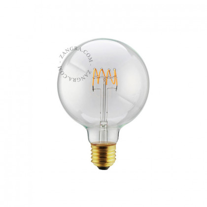 Zangra Globe 125mm LED bulb 5W
