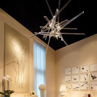 Lasvit And Why Not! Sculpture Chandelier