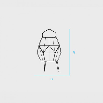 Maiori La Lampe Couture Solar Table Lamp