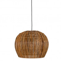 Ay Illuminate Rattan Bell Suspension