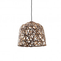 Ay Illuminate Black Bird's Nest Suspension