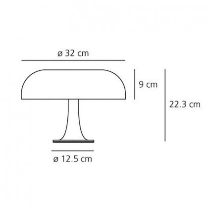 Artemide Nessino Table Lamp