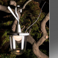 Artemide Tolomeo Lampione Outdoor Hook Lamp
