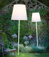 Slide Fiaccola Ali Baba Outdoor Standing Lamp
