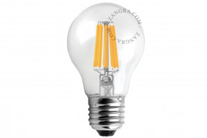 Zangra LED Light Bulb Filament 6W 2700K