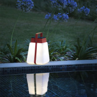Les Jardins Bump Portable Solar Table Lamp