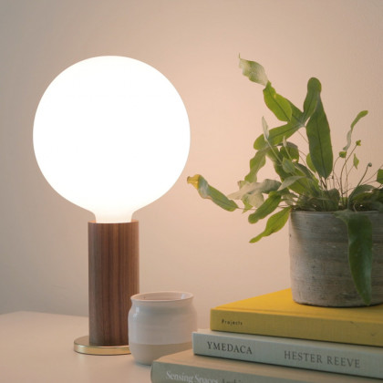 Tala Knuckle Table Lamp Walnut