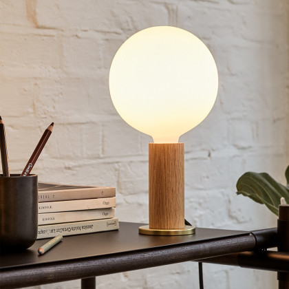 Tala Knuckle Table Lamp Oak