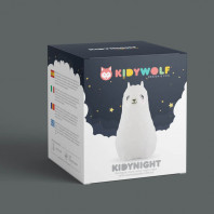 Kidywolf Kidynight Lama Kids Night Light