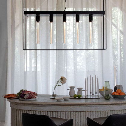Buster + Punch Caged Ceiling Lamp
