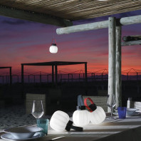 Martinelli Luce Kiki Cordless Outdoor Table Lamp