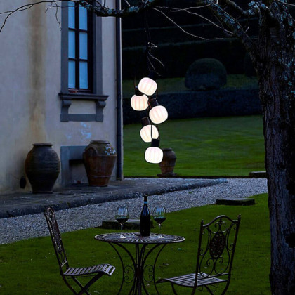 Martinelli Luce Kiki Chain of Outdoor Lamps