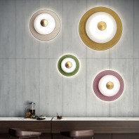 Forestier Cymbal Wall Lamp