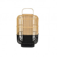 Forestier Bamboo Square Table Lamp and Lantern