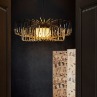 Forestier Bamboo Up & Down Pendant Lamp
