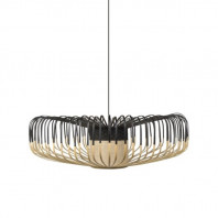 Forestier Bamboo Up Pendant Lamp