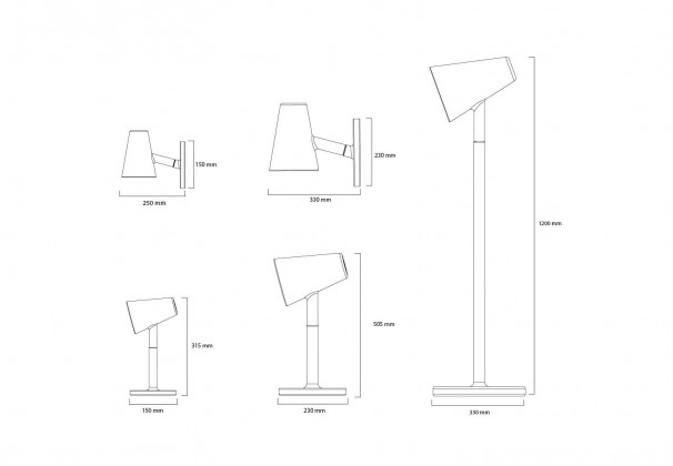 Per/Use Siblings Floor Lamp
