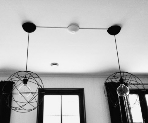 CableCup Hide Ceiling Rose
