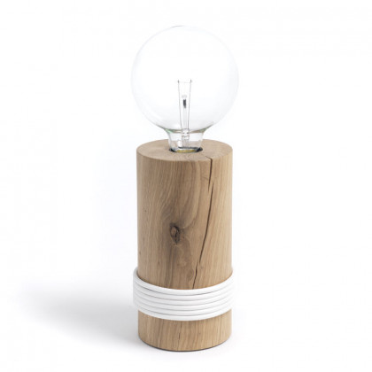 The Oak Men Log Lamp