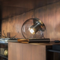 Oluce The Globe Lampe de Table