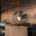 Oluce The Globe Tafel Lamp