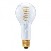 Segula LED Grand Bulb 12W Curved Plus Spiral clear