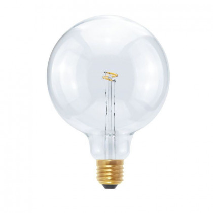 Segula LED Globe 125 2,7W Curved Plus Point clear